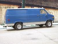 Chevrolet Van Chevy AMT 1/25 vantasy