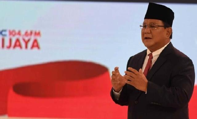 Penampilan Prabowo Saat Debat, Jokowi: Bagus, Bagus...