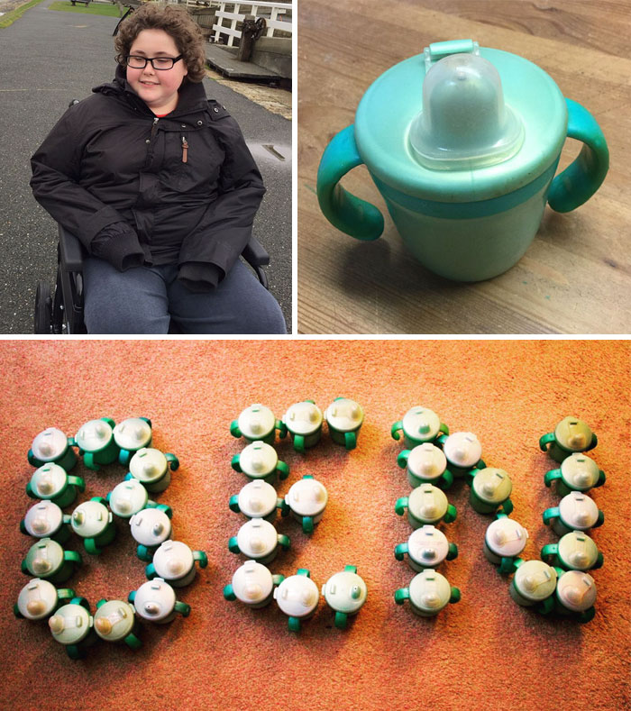 40 Times 2016 Restored Our Faith In Humanity - 14 Y/O Autistic Boy Could Only Drink From His Favorite Cup That Was Discontinued, So This Company Made 500 New Cups For Him