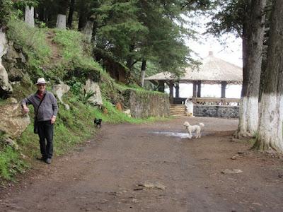 The large gazebo at Estribo Grande in Patzcuaro