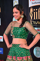Nandita Swetha in a tight Green Choli Ghagra at IIFA Utsavam Awards March 2017 ~ 030.JPG