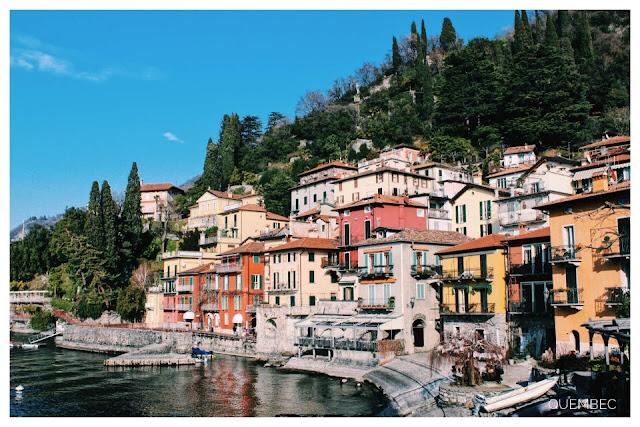 Varenna - miasteczko nad jeziorem Como