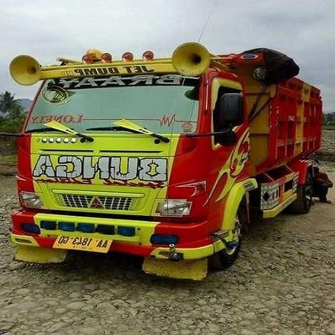Gambar Modifikasi Truk Dump Truck Gambar Modifikasi Mobil Dump Truk Terbaru Indonesia 2018