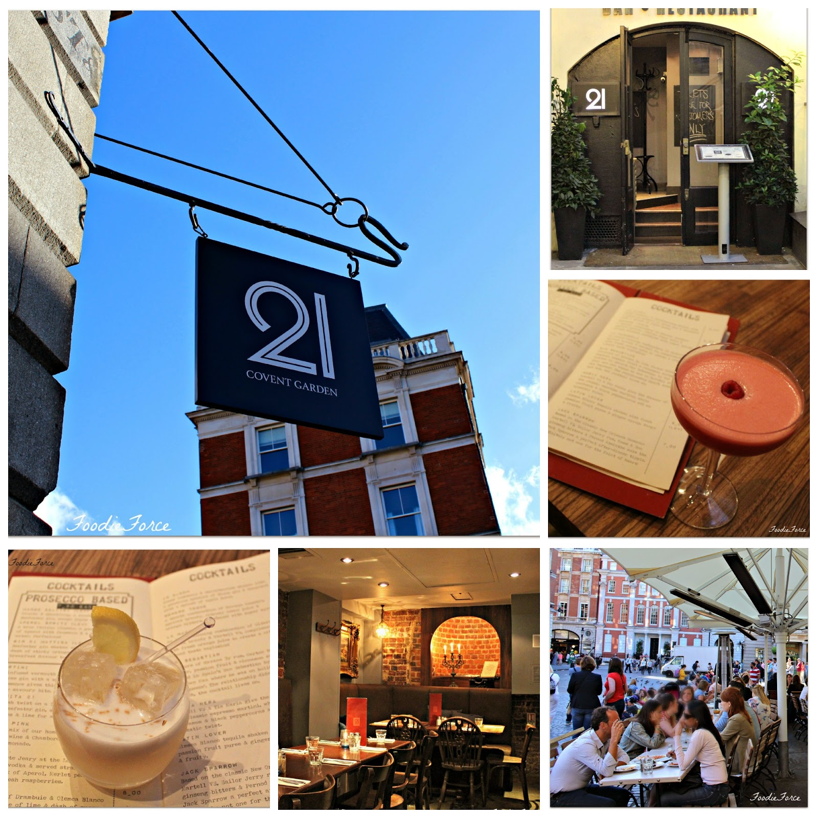 21 Restaurant Covent Garden
