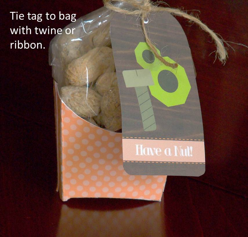 Cupcake Wishes Birthday Dreams Nuts About Dad Fathers Day Gift Idea And Tie Riffic Party