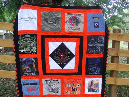 The Harley Shirt Quilt