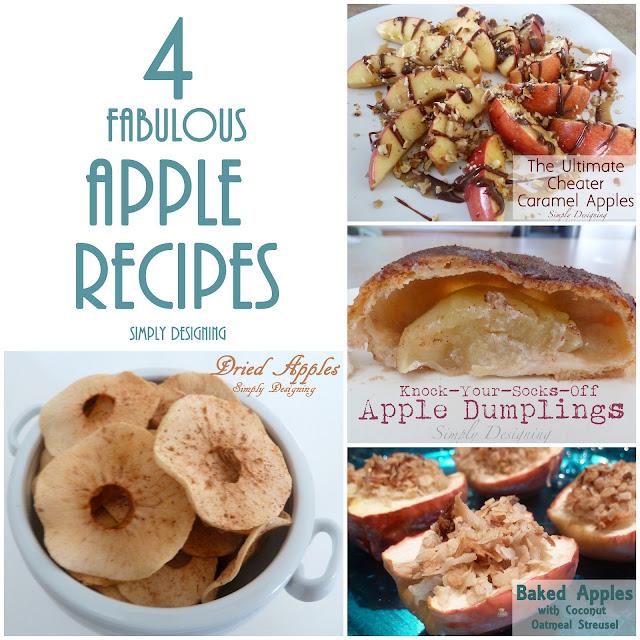 4 fabulous apple recipes Four Fabulous Apple Ideas plus a Video 5