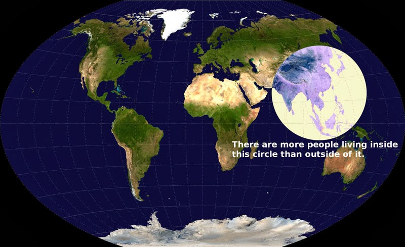 40 Maps That Will Help You Make Sense of the World - Visualizing Global Population Density