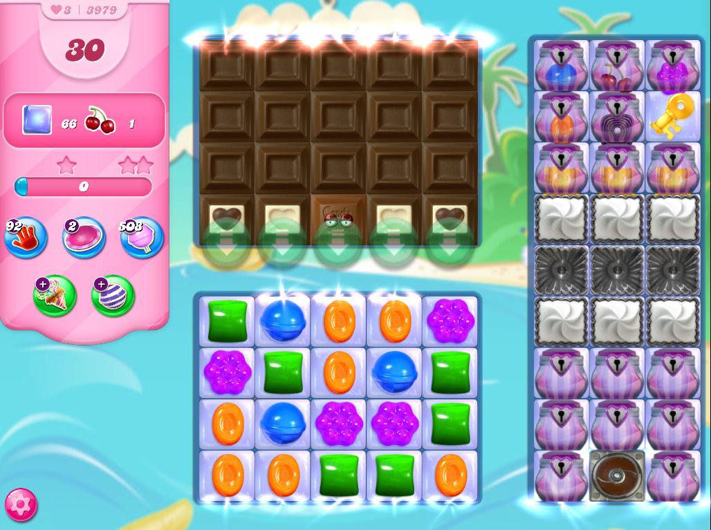 Candy Crush Saga level 3979