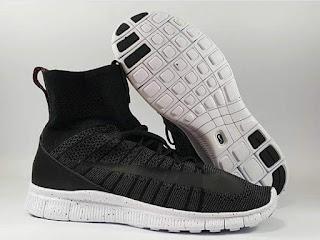 Sepatu Running Nike Free Mercurial Superfly Black Premium, sepatu running premium, sepatu running import, sepatu running murah