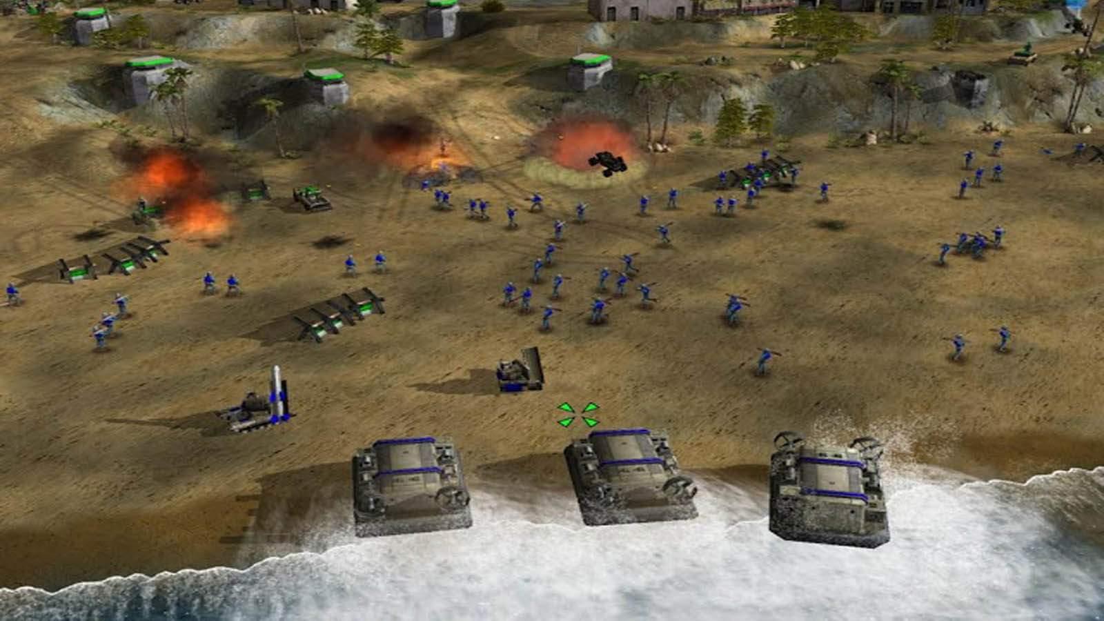 تحميل لعبة Command And Conquer Generals مضغوطة برابط واحد مباشر كاملة مجانا