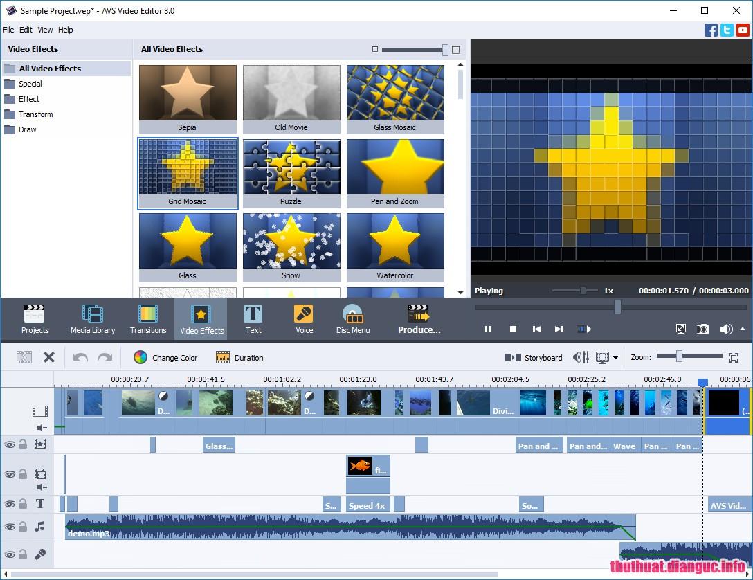 Download AVS Video Editor 8.1.2.322 Full Cr@ck – Phần mềm biên tập video mạnh mẽ