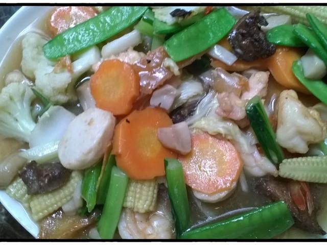 resep capcay goreng saus tiram