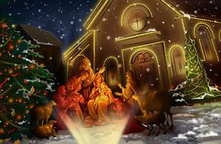 Oração para a família na Noite de Natal