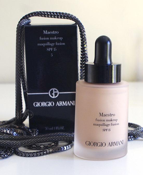 base maquillaje maestro giorgio armani makeup