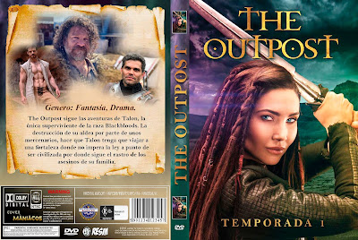 CARATULA - [SERIE DE TV] THE OUTPOST - TEMPORADA 1 - 2018 [COVER DVD]