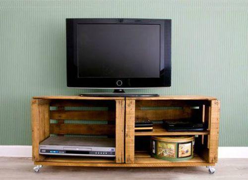 De lunes a domingo 15 formas de reutilizar cajas de madera for Muebles con cajas de madera