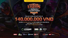 Công bố giải đấu Cyzone 4Kings Championship Season 4