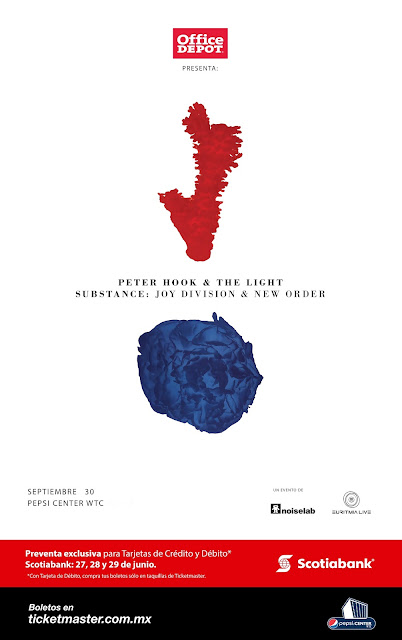 Peter Hook & The Light en México