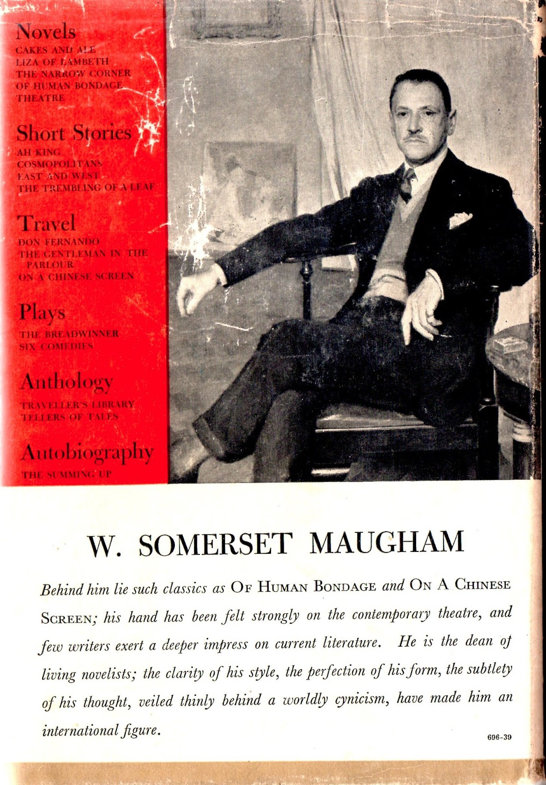 impressions of theatre by somerset maugham
