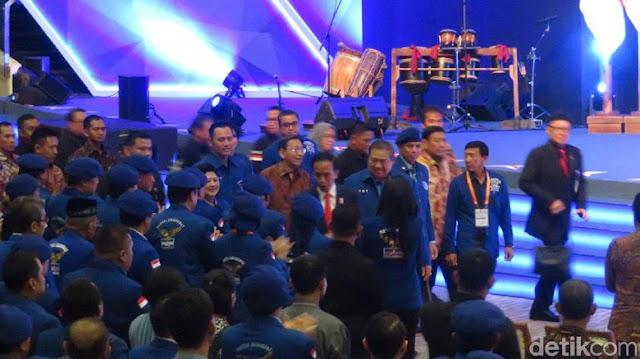 SBY: Jika Allah Menakdirkan, Demokrat Berjuang Bersama Jokowi