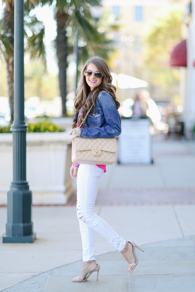 Southern Curls &amp Pearls: Finally Found: The Perfect Denim Jacket