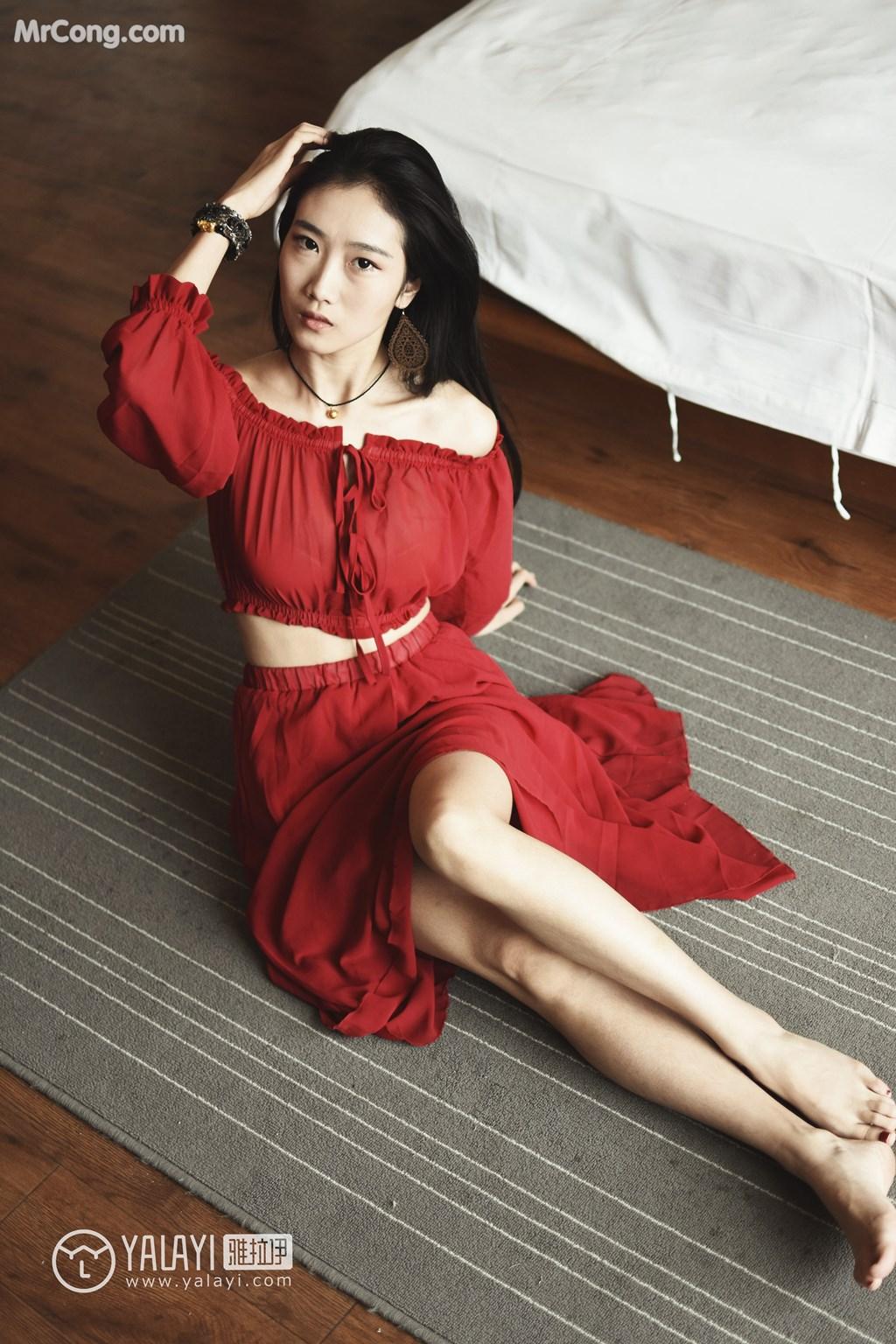 Image YALAYI-No.007-Lin-Xiao-Wei-MrCong.com-003 in post YALAYI No.007: Lin Xiao Wei (林小珂) (47 ảnh)