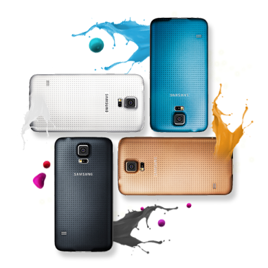 Samsung Galaxy S5 in new colors