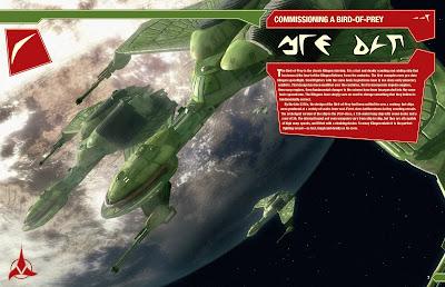 Klingon Bird Of Prey Tos The Trek Collect...