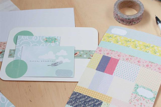 Snail mail: cómo coordinar tarjetas y sobres