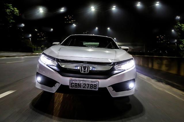 Novo Honda Civic 2017 - frente