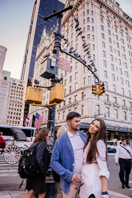 pre-wedding photoshoot in New York city