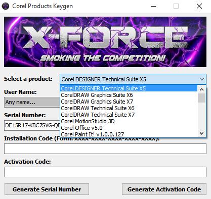 coreldraw x3 graphics suite keygen