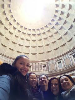 Família da Eliane, que fez um tour maravilhoso em Roma em Dezembro de 2016