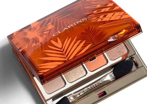 Clarins Sunkissed Summer 2017 Review 4-Colour Eyeshadow Palette