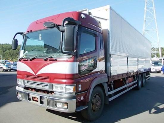 foto truk fuso kontainer
