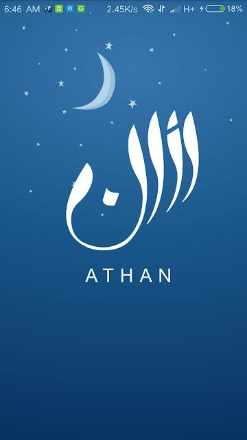 Athan Ramadan Prayer Times APK - depan