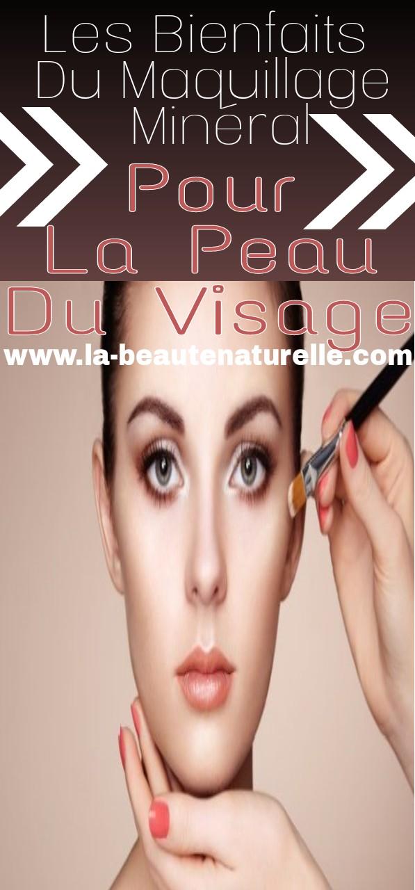 Les bienfaits du maquillage minéral pour la peau du visage