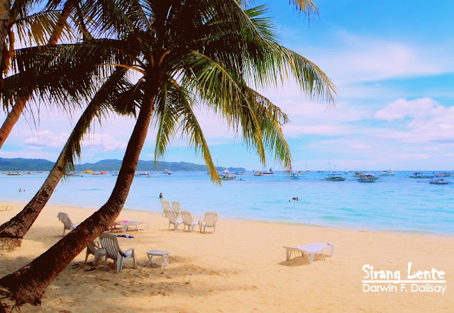 Boracay has the finest white sand beach in the world.