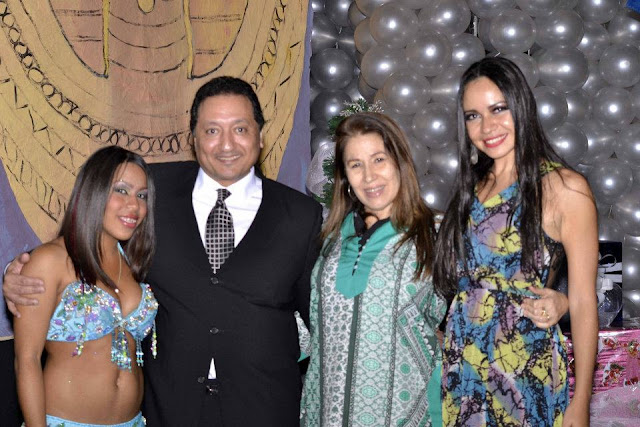 Vanessa Angulo Ahmed Hussein y Paula