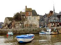Les bateaux port de Honfleur Calvados