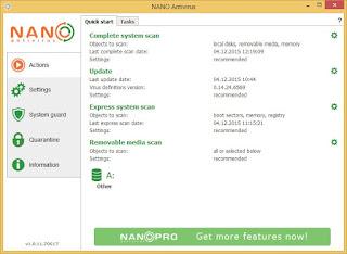 برنامج, نانو, انتى, فيروس, NANO ,AntiVirus, اخر, اصدار