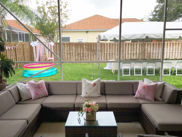 Boho Garden Birthday Party by popular South Florida party blogger Celebration Stylist