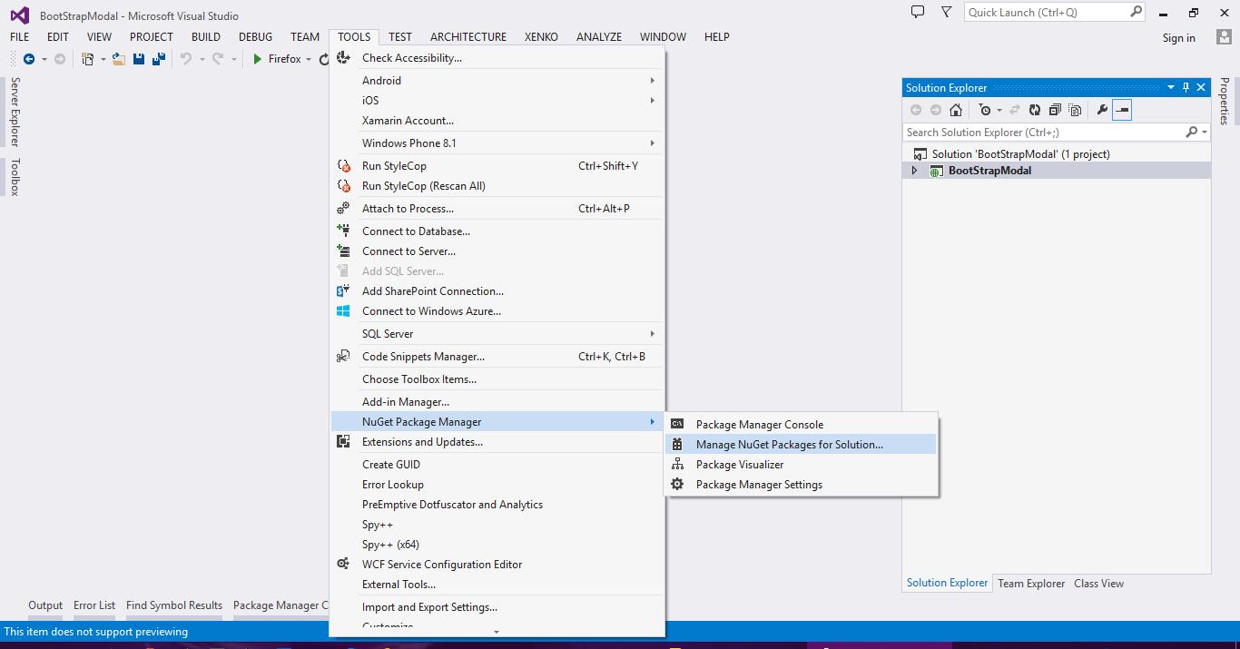 ASP NET MVC5: Lightbox Alternative Bootstrap Modal - Asma's Blog