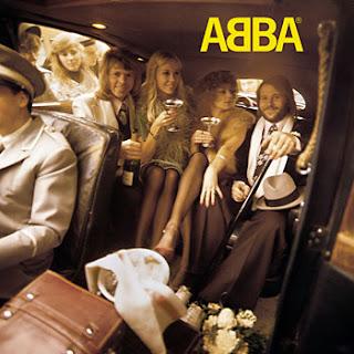 "Capa do disco ""Abba"", que o grupo Abba lançou em 1975"