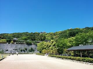 松山城の様子