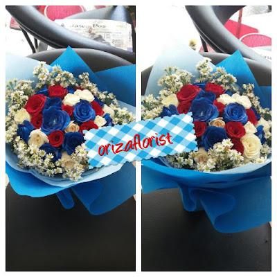 jual hand bouquet murah di surabaya, buket bunga murah surabaya, harga buket bunga mawar di surabaya,