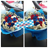 Hand Bouquet Mawar Mix Colour