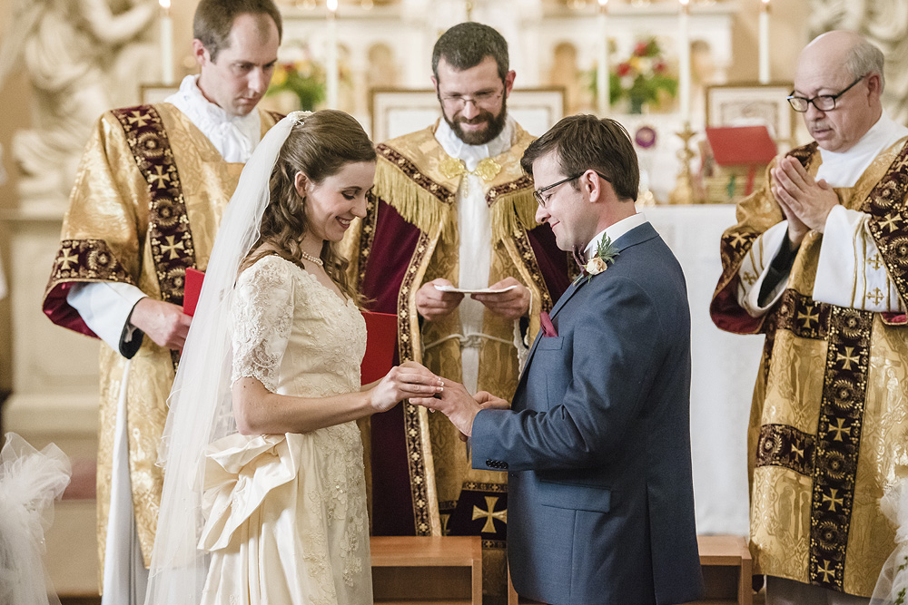 Catholic Wedding Traditions.Traditional Catholic Wedding At Christendom College Sneak