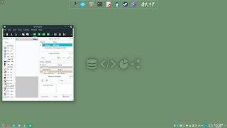 KDE Plasma Flat Activities Wallpaper 3 Develop